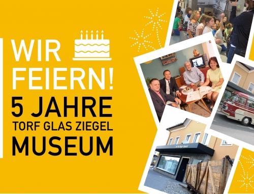 WIR FEIERN!  5 JAHRE MUSEUM