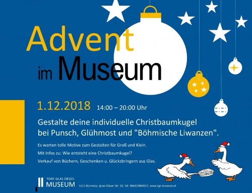 Advent im Museum