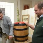 Bieranstich Rupert Quehenberger,  Matthias Schnaitl- Brauerei Schnaitl
