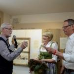 Obmann Johann Gmeilbauer, Monika und Walter Schumacher