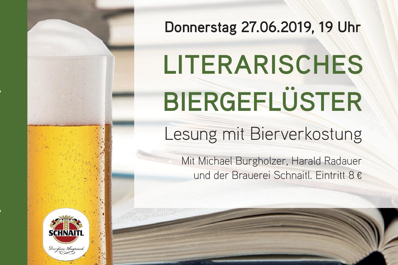 Literarisches Biergeflüster