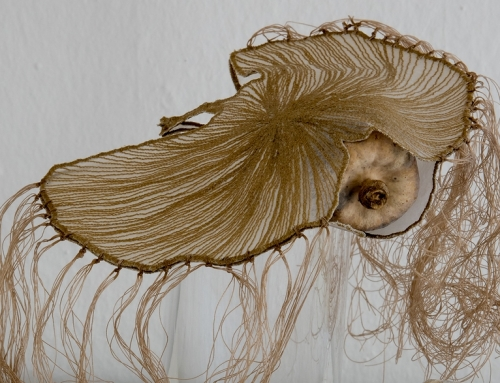 """Seltene Arten"" Textilkunst Rosemaria Ott"